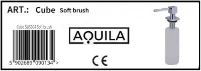 Aquila dozownik Cube inox