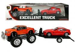 Zestaw Pojazdów Monster Truck Laweta 58 cm