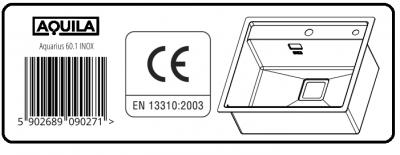 AQUILA AQUARIUS 60.1 INOX